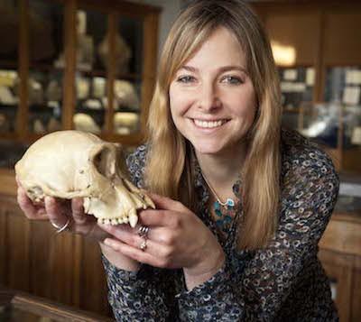 Professor Alice Roberts.